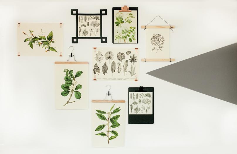 Pět alternativ, jak pověsit plakát bez rámečku