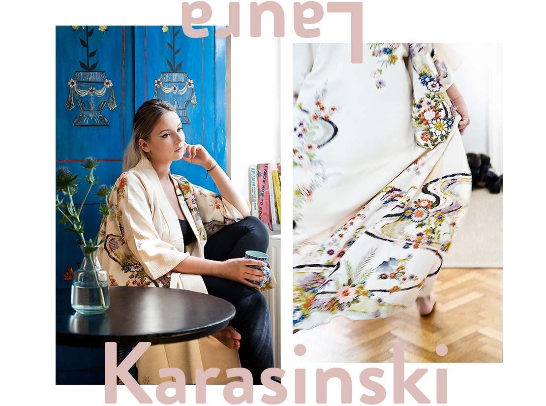 vintage eklektický styl laura karasinski