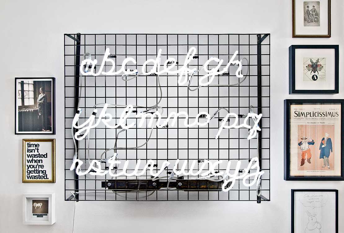 eklectický interiér obrázky na stěnu