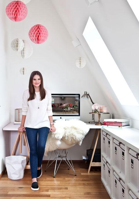 Zu Hause bei Bloggerin Olga Arnold