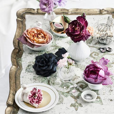 Zauberhafte Blumendeko