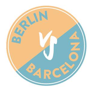 Berlin versus Barcelona