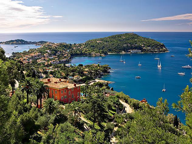 El estilo de la Riviera Francesa