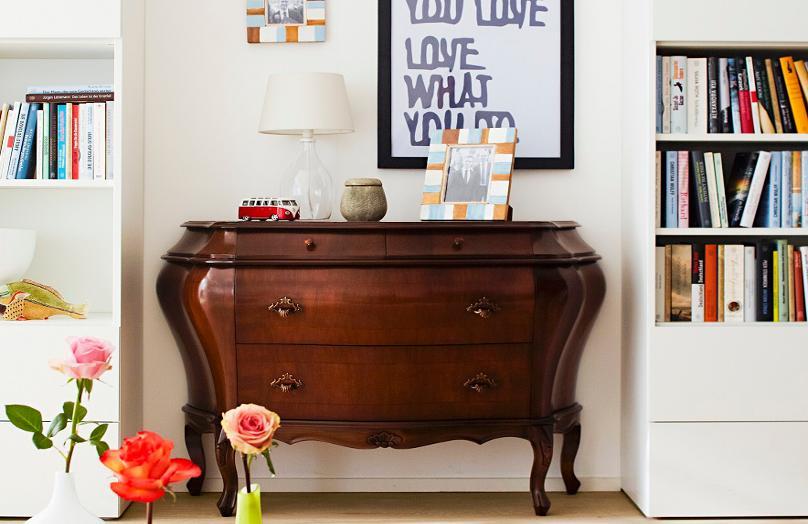 Vintage o cómo reutilizar los muebles de la abuela