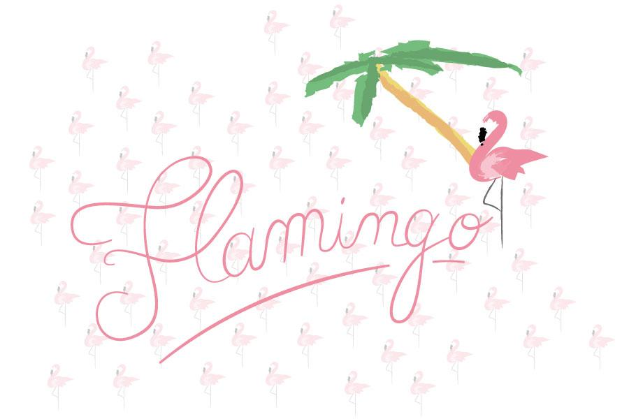 Pink flamingo : la tendance du printemps !