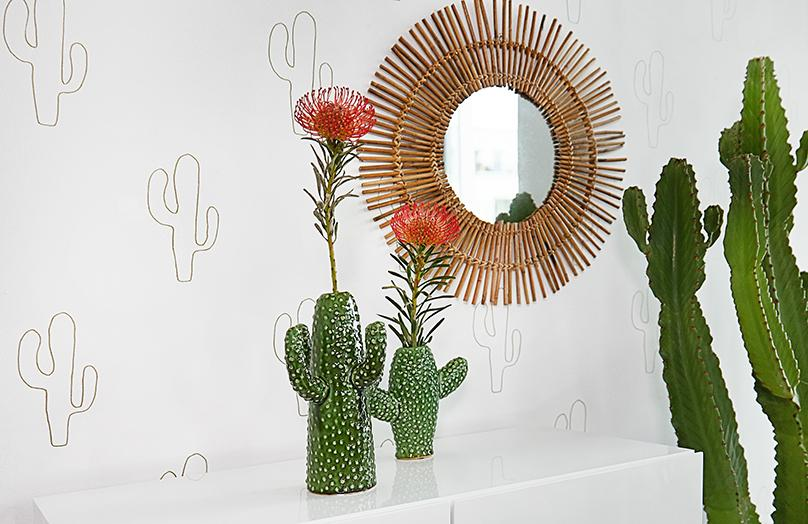 3 Looks - comment donner du style à votre vase en cactus ?