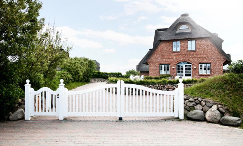 Una casa da sogno sull'isola di Sylt
