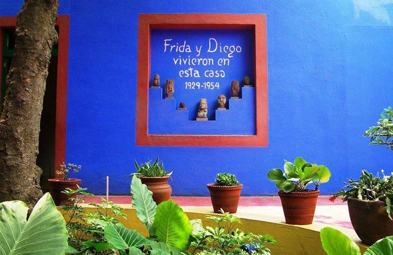 Una casa in stile Frida Kahlo