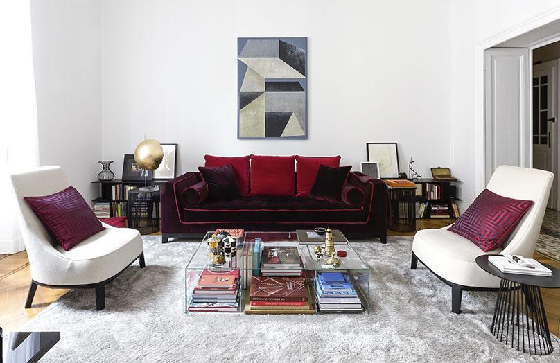 Casa Neo-Glam a Milano - Lo stile scintillante di Lorenzo DeFant