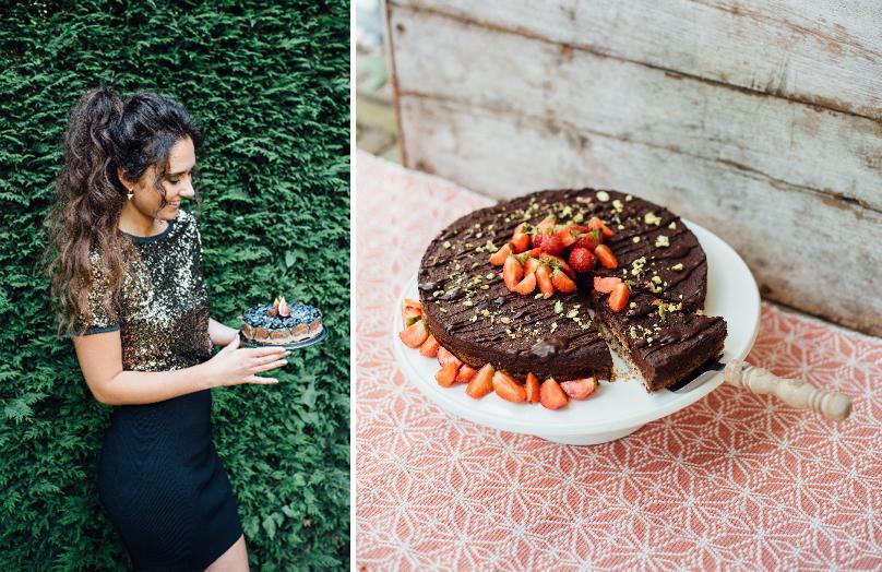 De thuisblijfkerst van blogger Lisa goes Vegan