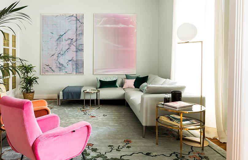 Mieszkanie Ilarii Ferraro – Między art déco a Orientem