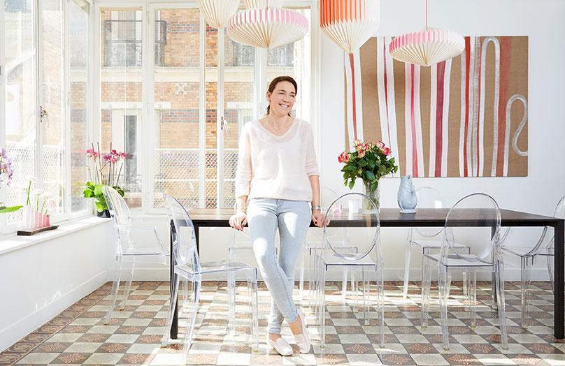 Zu Hause bei Lorna Aubouin in Paris