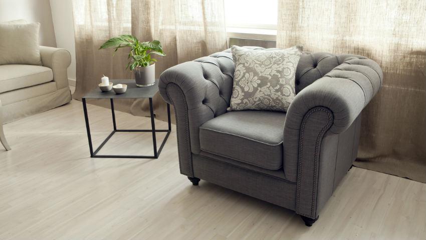 Poltrona stile inglese: soggiorno in stile cottage ...