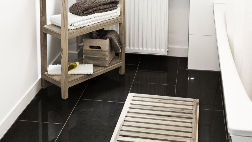 Dřevěný koberec