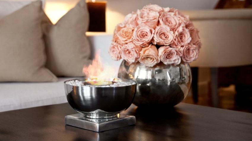 Stříbrné vázy