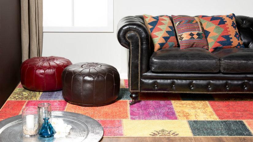 Patchwork koberec
