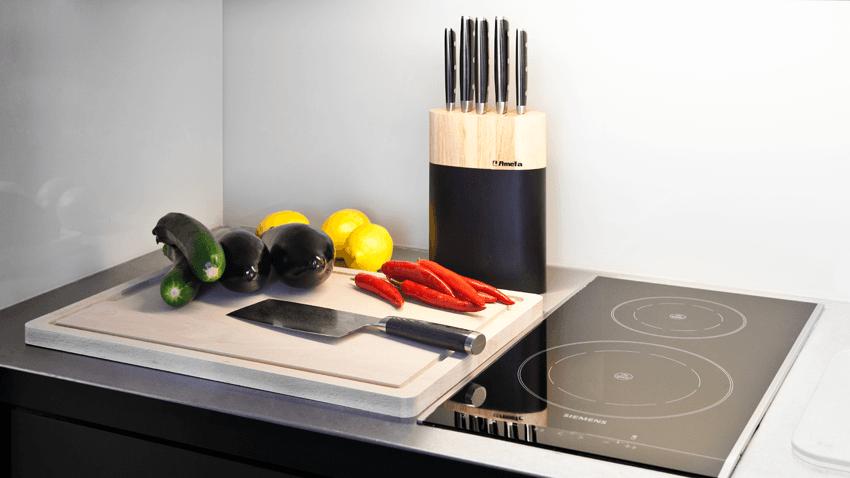 Küchenreibe Edelstahl