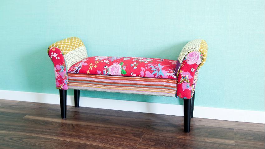 Fotel patchwork