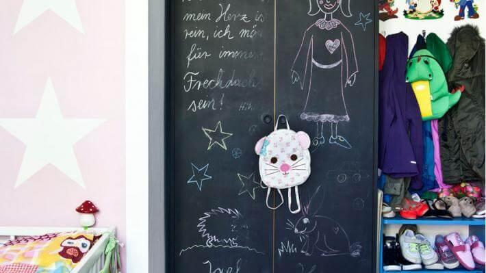 pokój dla chłopca tablica