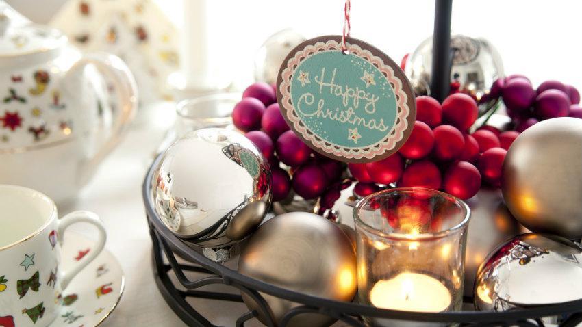 Mini kerstballen