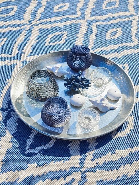 Seashells decoration tray