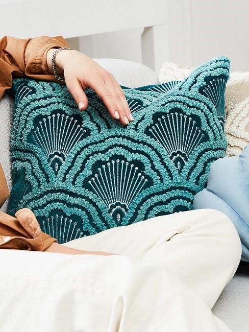 Seashells decorative pillow
