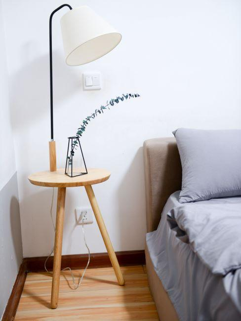 chambre a coucher, table de chevet