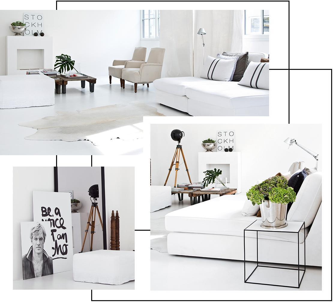 Blog Liebesbotschaft Couch Wohnzimmer White