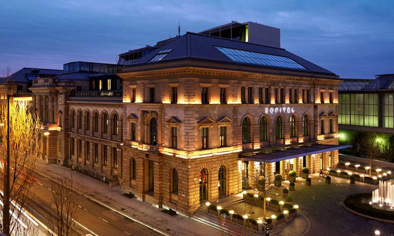 besten Spa Hotels in Deutschland  Sofitel Außenansicht