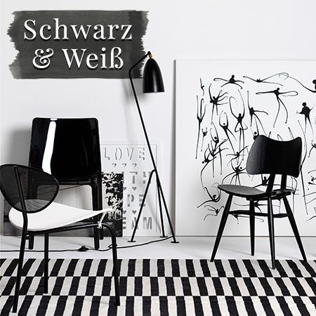 Interior-Trend: Monochrome