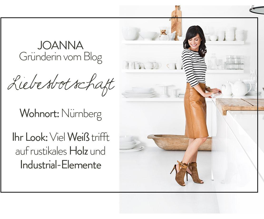 Blog Liebesbotschaft Joanna Goetz Küche