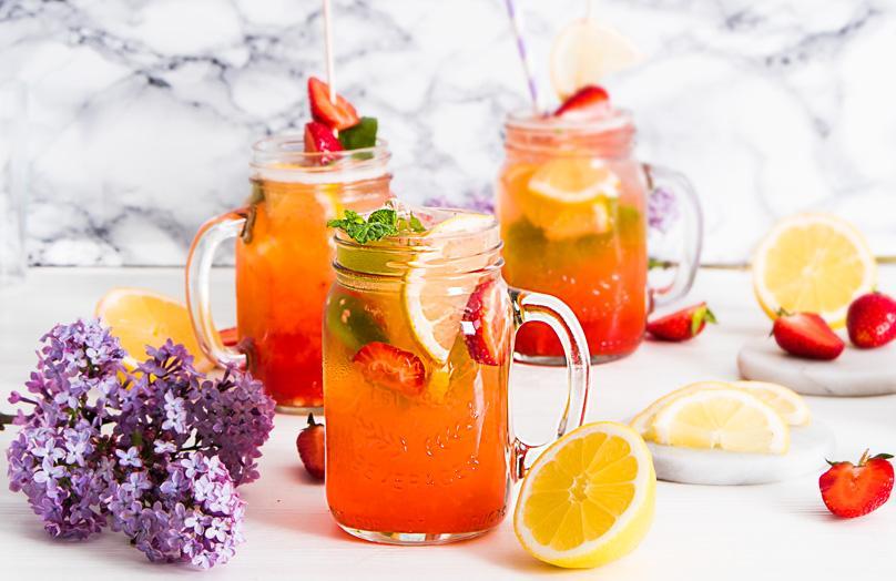 Limonada casera, una sana tentación