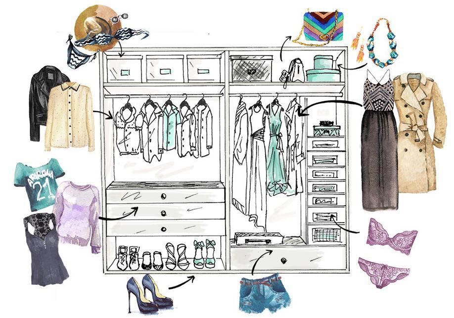Guardaroba-perfetto, Organizzare-il-guardaroba-perfetto, Consigli, Fashion, Moda, Stile, Style, Trend, Trend-2016, Colori-2016