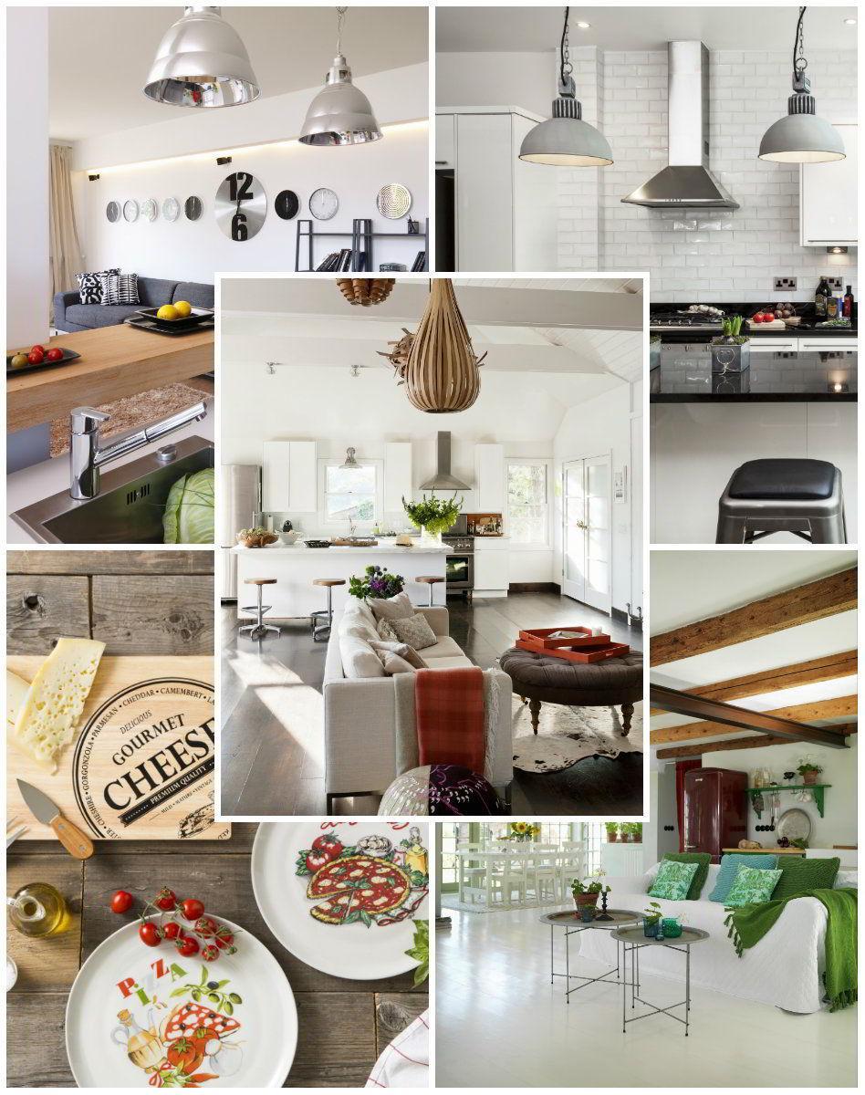 Dalani, Cristiana Capotondi, Milano, Cinema, Living, Casa, Cucina