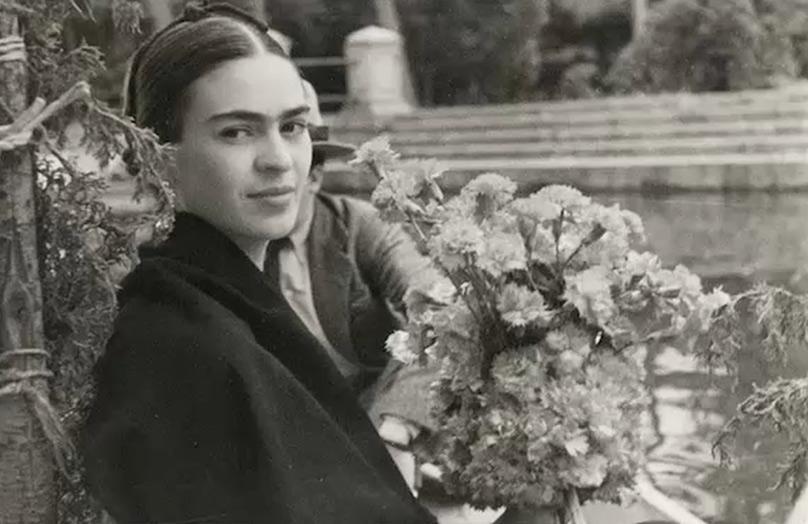 Een interieur volgens de stijl van Frida Kahlo
