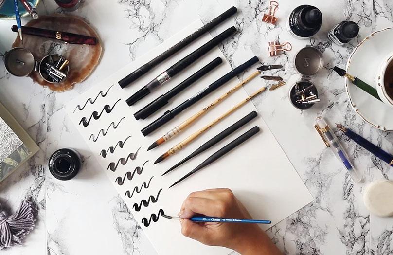 Verbeter je kalligrafie skills met deze 5 tips