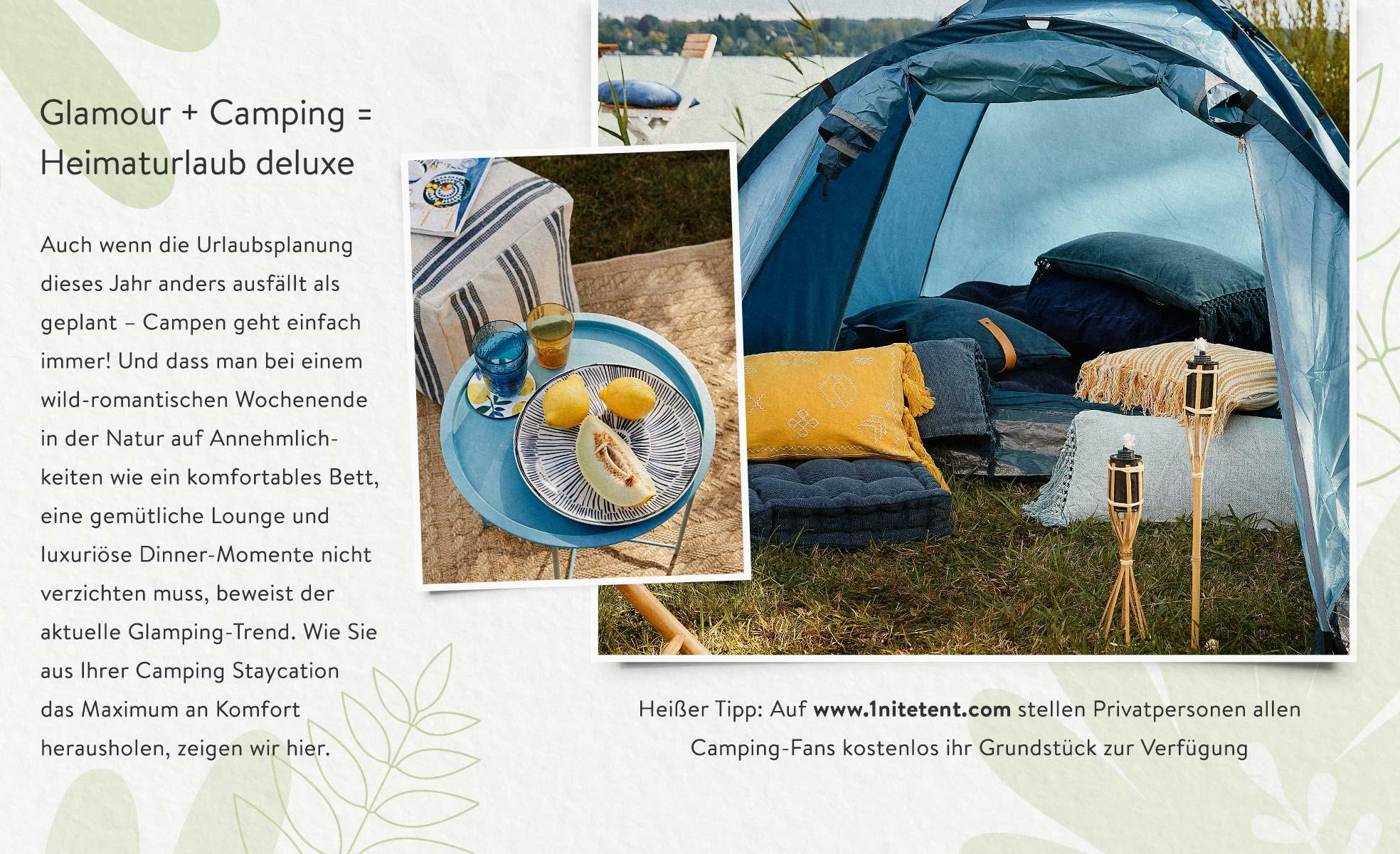 Glamping Must-haves Definition Staycation
