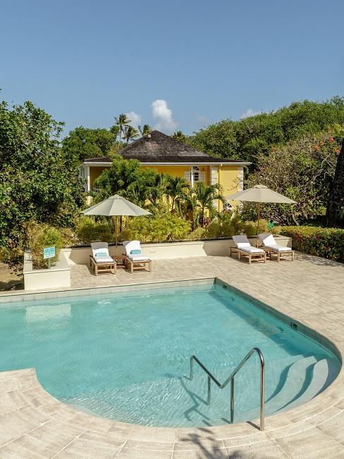 Cotton House Mustique Island Außenansicht