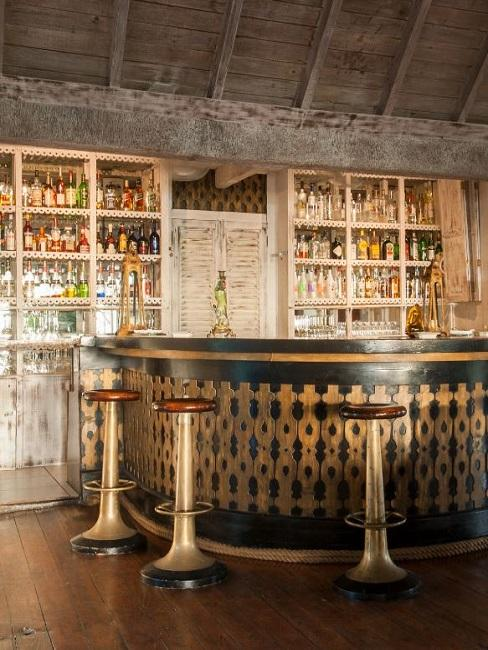 Cotton House Mustique Island Bar