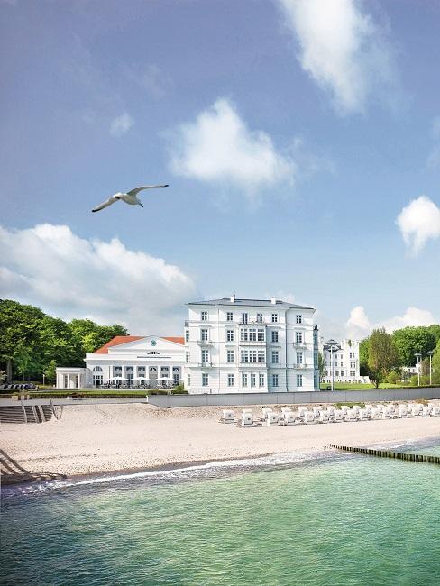 Grand Hotel Heiligendamm Außen Meer