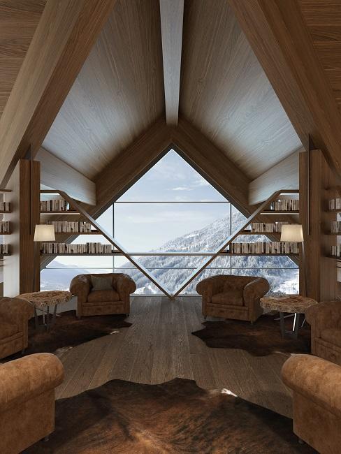 Lefay Resort SPA Dolomiti Aussicht Lobby