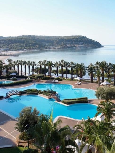 Sani Ressort Strand Pool