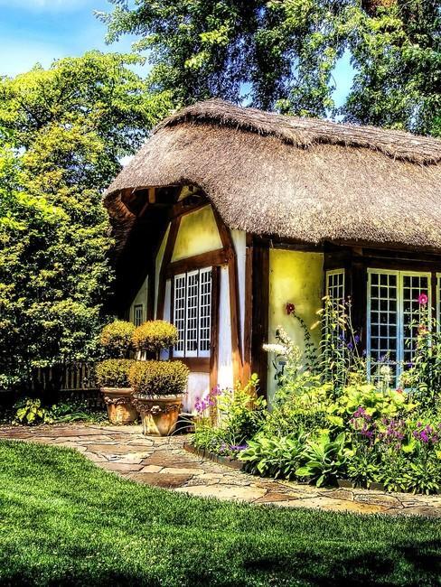 natuurhuisje geel cottage