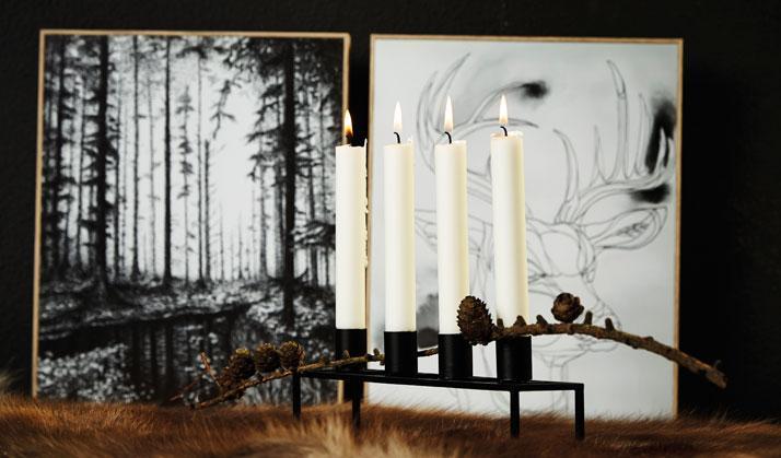 Pure Culture 4er Kerzenhalter