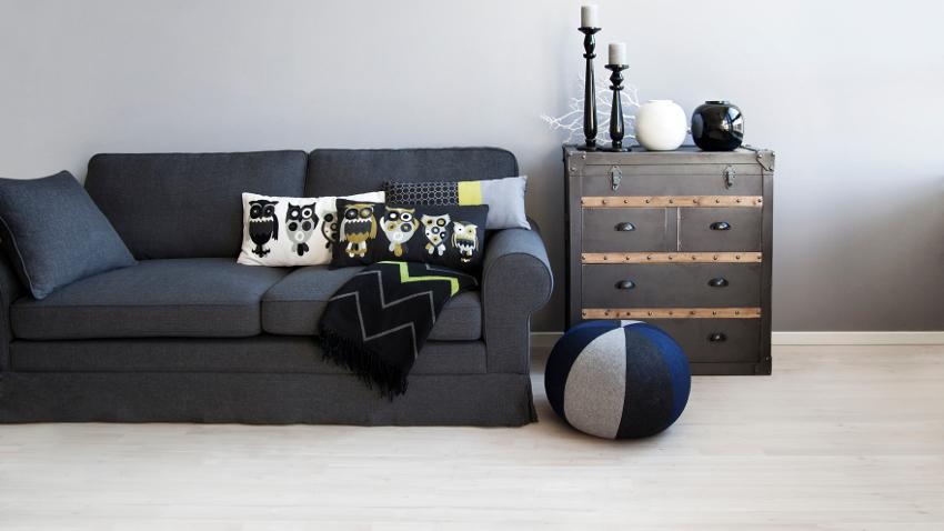 Cojines para sofás negros