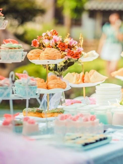 cupcakes para una fiesta