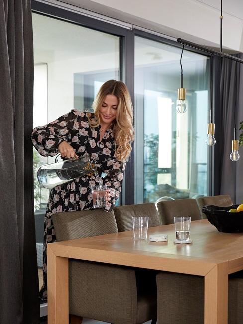 Ann-Kathrin Götze Wohnzimmer Esstisch