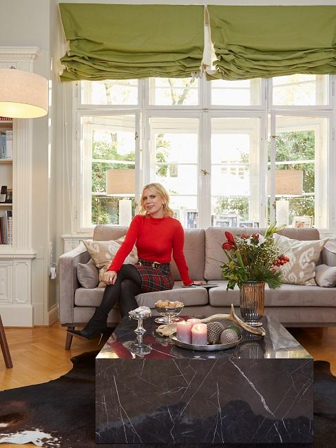 Tamara Gräfin von Nayhauss Sofa Wohnzimmer