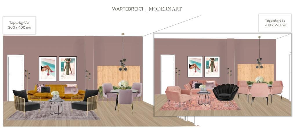 Büro einrichten Modern Art Wartebereich