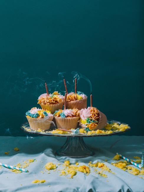cupcakes sur plateau